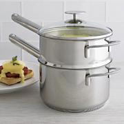 how to use double boiler