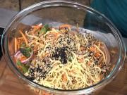 Wegmans Ginger, Sesame, Asparagus & Lo Mein Salad