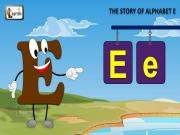 The E Song | Letter E Song | Story of Letter E | ABC Songs