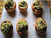 Pecan Stuffed Mushrooms