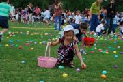 The fun of Easter Egg Hunt