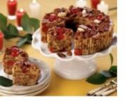 Delicious fruit cake for this Christmas