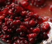 Cranberry Sauce And Rum Sauce
