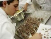 Culinary Students Giving Final Touch to Desserts