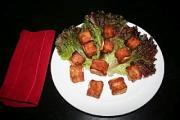Bacon Wrapped Tofu