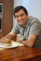 Sanjeev Kapoor is one of the best known chefs of India