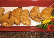 Italian Fried Salami and Cheese Mini Turnover