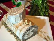 Coffee Log Cake