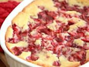 Fresh Strawberry Cobbler Recipe - Quick & Easy Dessert
