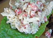 Bacon Topped Chicken Salad
