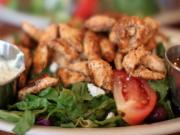Golden Turkey Salad