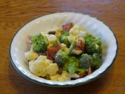 Cauliflower and Broccoli salad can effectively curb cancerous strains.