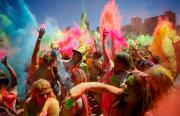 Holi is one of the major Indian festivals.