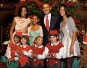 White House First Family Christmas dinner