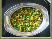 Green Beans Dal Curry Dry