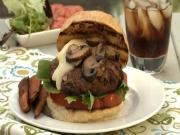 Brie Mushroom Burgers