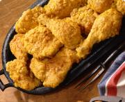 Tricks of serving crispy fried chicken