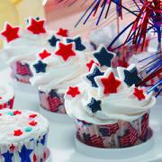 flag cupcake ideas