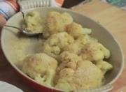 Cauliflower with Mornay Sauce