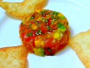 Hawaiian Tuna Poke With Mango