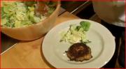 Louisiana Deviled Crab Cakes with Homemade Caesar Salad