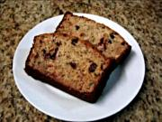 Greek Yogurt Banana Cranberry Bread