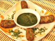 Aloo Mutter Kabab