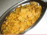 Vaghareli Roti(Spicy Flat Bread Crumbles) - Quick Fix Left Overs