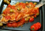 Fried Fish With Cherry Tomatoes