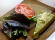 Roasted Asparagus Flan
