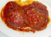 Baked Saucy Meat Balls