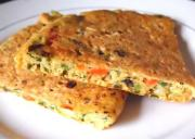 Fluffy Vegetable Omelette
