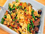 Mu Shu Beef Stir Fry