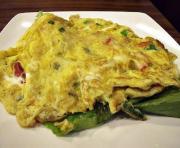 Potato Vegetable Omelets