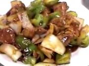 Pepper Steak Sauteed with Hot and Spicy Sauce