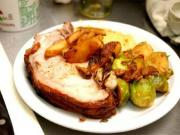 Apple Kraut Pork Roast