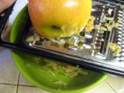 How To Grate Apple