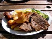 Standing Rib Roast With Yorkshire Pudding