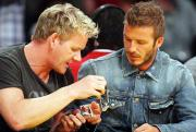 Ramsay and Beckham are seen exchanging watches often in public.