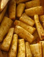 Baked Parsnips in Orange