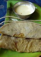 Dussehra and Diwali ki Puran Poli - Sweet Stuffed Paratha