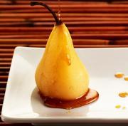 Cinnamon Spiced Pears