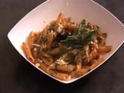 Spicy Mushroom Penne