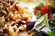 Saffron Rice And Almond Salad