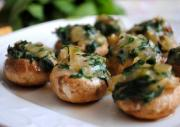 Tangy Stuffed Mushrooms
