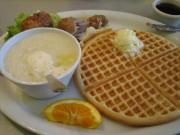 Speedy Blender Waffles