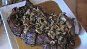 Beef Fillets with Mushroom Sauce