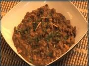 Simple Mashed Punjabi Beans - Indian Food