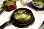 Split Moong Dal Fritters  Frying Part 6