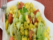 Fruity Corn Salad (Vitamin A and C) by Tarla Dalal